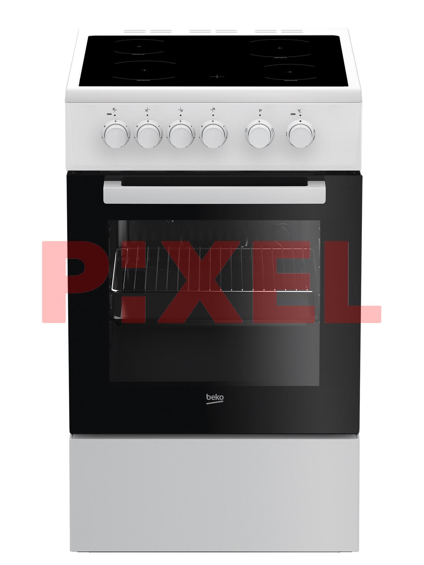 Kuchnia Z Płytą Ceramiczną Beko Fss 57000 Gw Pixel Sklep