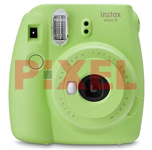 Aparat do natychmiastowej fotografii FUJI Instax mini 9 Limonkowy zielony