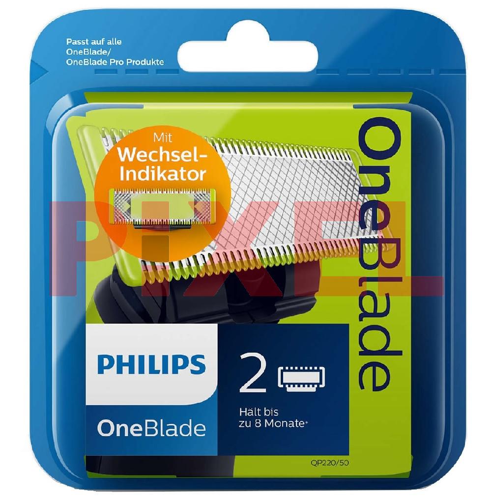 Wymienne ostrza Philips OneBlade QP220/55