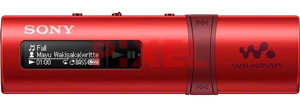 Odtwarzacz MP3 SONY NWZ-B183FR Czerwony