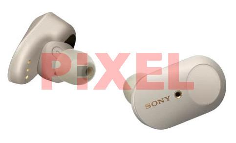 Słuchawki bezprzewodowe SONY WF-1000XM3 Srebrny